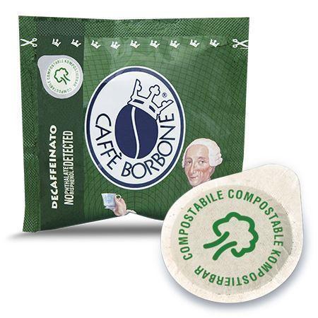 cialdaok miscela verde decaffeinato cialde caffe borbone