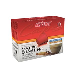 cialdaok caffe ginseng nespresso ristora