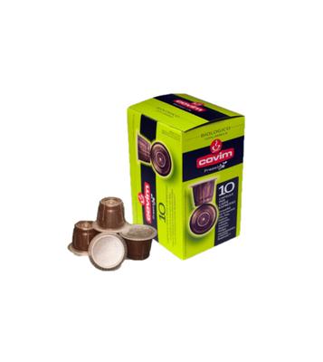 Covim Arabica Bio Compostabile Compatibili Nespresso