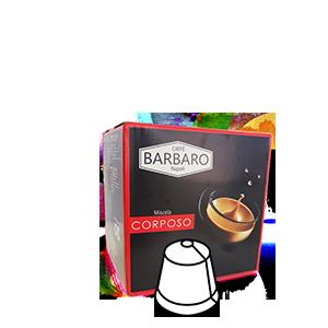cialdaok corposo nespresso caffe barbaro