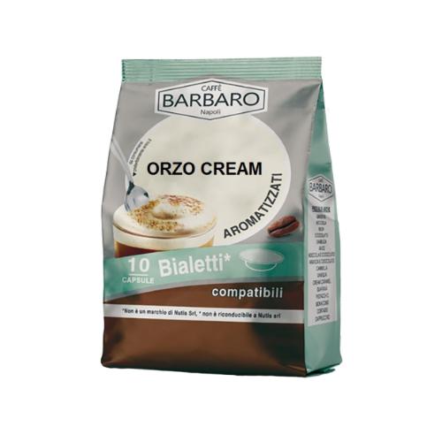 Le Capsule Compatibili Bialetti di Orzo di Caffè Barbaro offrono il gusto sano ed equilibrato di questa bevanda SENZA CAFFEINA