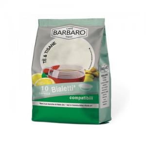 Te al Limone Caffè Barbaro Capsule Compatibili Bialetti